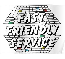 80s Service Poster