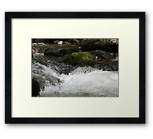 rough water's Framed Print