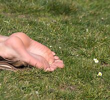 barefoot in the park by pmacimagery