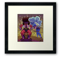 Punchout Date Framed Print