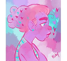 Pastel Girl Photographic Print