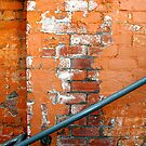 Orange Brick Wall by richman