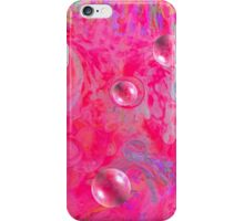 Serenity and Pink Bubble, by Sherri Nicholas iPhone Case/Skin