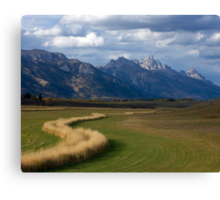 Curving To The Grand Canvas Print