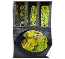 Park Lake Bridge Poster