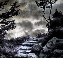 Stairway to Heaven... if you dare! by Beth A