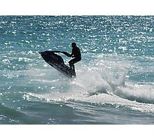 Jet Skiing It 2 Photographic Print