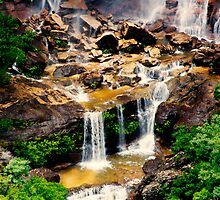 Wentworth Falls, NSW. by Andy Newman