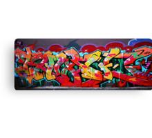Richmond graffiti Canvas Print
