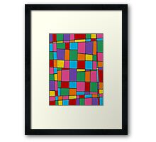 Retro Art - Vivid Colour #11 Framed Print