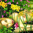 """Karen's Secret Garden by Belinda """"BillyLee"""" NYE (Printmaker)"""