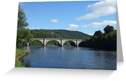 River Tay at Dunkeld by Debz Kirk