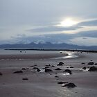 View to Isle of Arran from Seamill Beach by Debz Kirk