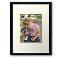 Innocent Love Framed Print