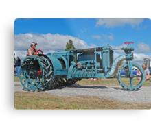 Sieve-Grip Tractor Metal Print