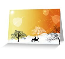 Nature sauvage Greeting Card