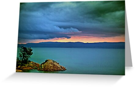 Great Oyster Bay Sunset, Tasmania by Darren Greenwell