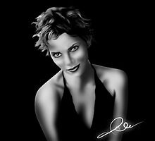halle berry by Michalinos Eleftherios