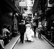 Degraves St by Louisa Jones