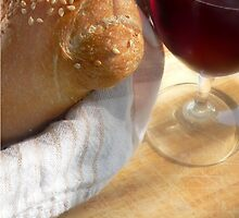 Bread and Wine by Perry Correll