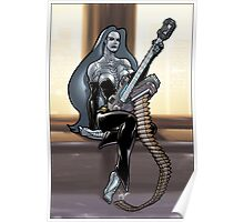 Missile Guitar 003 Poster