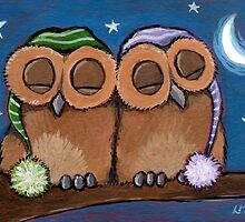 A Couple of Sleepy Heads by Lisa Marie Robinson