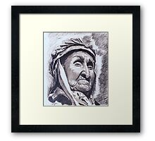 Eagle Chief Framed Print