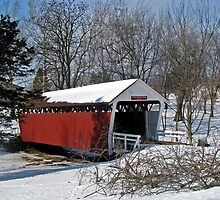 Cutler-Donahue Covered Bridge by Linda Miller Gesualdo