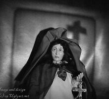 Mother Of Sorrow b/w by uglyshyla