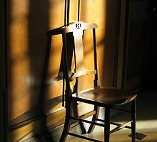 OLD WOODEN CHAIR by gothgirl