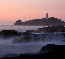 Godrevy Sunset by Kernow-Digital