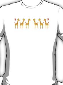 Giraffes love too T-Shirt