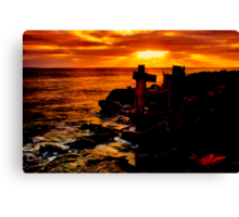 """Wye River Gold"" Canvas Print"