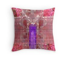 Abstracted K Throw Pillow