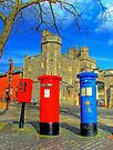 Post Box Corner - Windsor by Colin  Williams Photography