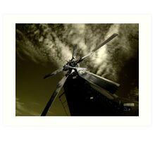 Avalon Airshow - Windmill Art Print