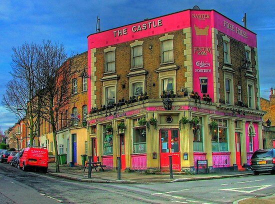 The Castle Pub London - HDR by Colin J Williams Photography