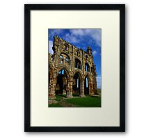 Whitby Abbey #6 Framed Print