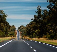 Road to Narrabri © by Vicki Ferrari