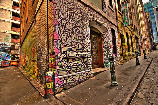 Hosiers Lane by Andrew Widdowson