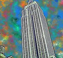The Empire State Bulding, NYC by mooner1
