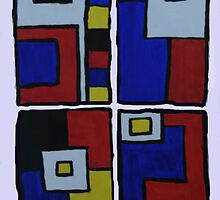 Ode to Mondrian in 4 Parts by Medusa