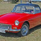 Red MG by Mark Whittle