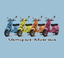 Vespa-Mania Teeshirt by Ryan Houston