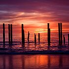 Port Willunga Jetty by Steve Chapple