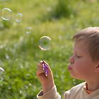 Blowing Bubbles by Adrianne Yzerman