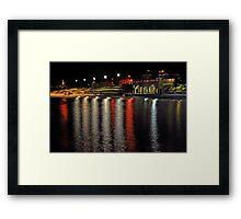 Cottesloe Beach At Night  Framed Print