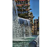 Fountain, Torrevieja, Costa Blanca, Spain Photographic Print