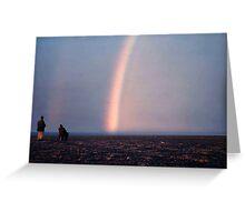 Arctic Rainbow Greeting Card