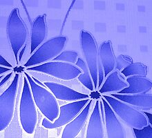 flowery blue by annettespiccys